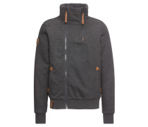 Sweatshirt 'Du Affenmensch' anthrazit