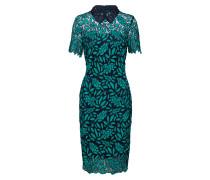 Kleid '12012' jade / schwarz