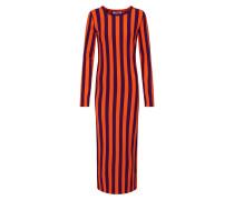 Kleid lila / orange
