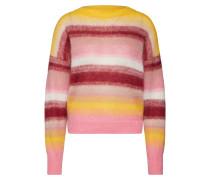 Sweater gelb / pink / weiß