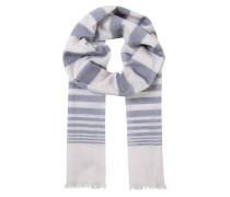 Schals blau / weiß
