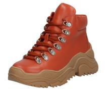 Sneaker 'relic' braun / orange