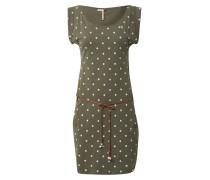 Kleid dunkelgrün / oliv