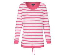Pullover pink / weiß