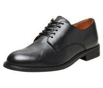 Derby Schuhe schwarz