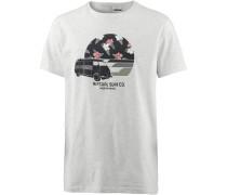 'van Trip' T-Shirt hellgrau