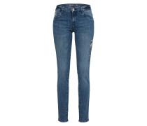 Slimfit Jeans 'Alexa' blau