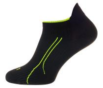 Sportsocken neongrün / schwarz