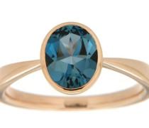 jewels Goldring blau / gold