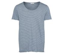 Shirt creme / blau