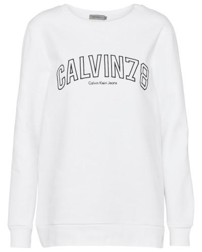 Casual Sweatshirt weiß