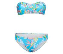 Bikini 'ebony ' hellblau / mischfarben