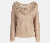 Pullover hellbeige