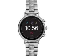 Smartwatch schwarz / silber