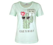 T-Shirt mint / mischfarben
