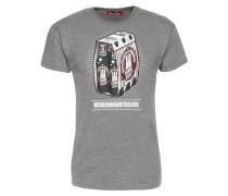 Shirt 'Herrenhandtasche Reloaded' grau