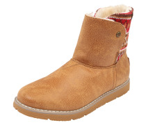 Snowboot 'Alpine snow day' braun / rot