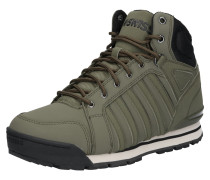 Sneaker 'Norfolk SC' oliv / schwarz