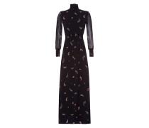 Kleid Smock Dress schwarz