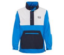 Jacke blau / weiß