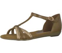 Sandale gold / oliv
