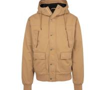 Jacket hellbraun