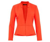 Peplum Blazer orangerot