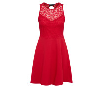 Kleid 'Basic Skater with Lace Panel'
