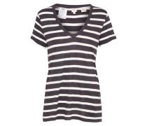 Shirt 'essential' grau / schwarz