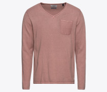Pullover 'jorvenue Knit V-Neck' rosa