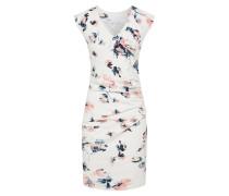 Kleid 'Elli India' mischfarben / weiß