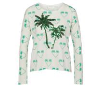 Pullover 'Palm Tree Print'