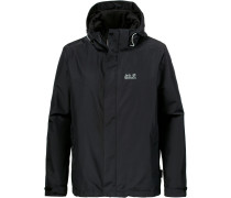 'Arland 3In1' Outdoorjacke schwarz