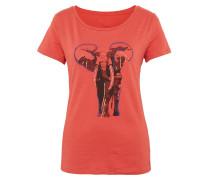 T-Shirt orangerot