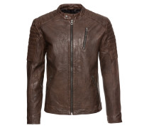 Lederjacke 'jjvrichard Lamb Leather Jacket Noos'