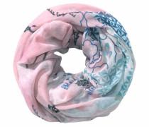 Loop hellblau / rosa