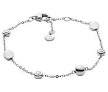 Armband 'sea Glass' silber