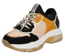 Sneaker 'Baisley' taupe / schwarz / beige