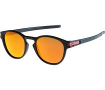 Sonnenbrille 'Latch' orange / schwarz