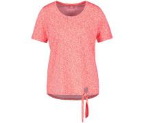 T-Shirt lachs / weiß
