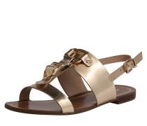 Sandale 'afiarien' gold