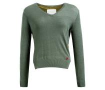 Pullover 'bathia' grün / khaki