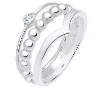 Ring silber / transparent
