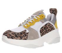 Sneaker 'Mynthe Mesh' beige / weiß