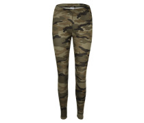 Camouflage-Leggings khaki