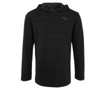 Kapuzensweatshirt 'Energy' schwarz