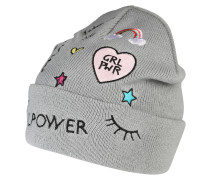 Mütze 'girls Rule Knit HAT Patch'