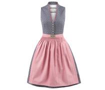 Dirndl grau / pink