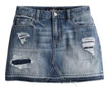 Rock 'DK Ptch RPR Denim Skirt'