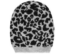 Mütze/Kappe grau / schwarz